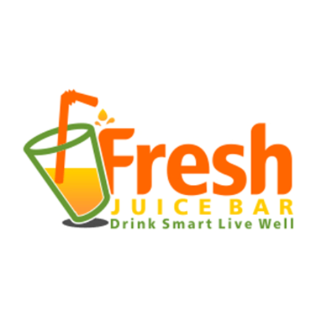 Fresh Juice Bar Drink Smart Live Well Logo