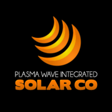 Plasma Wave Integrated Solar Co Logo
