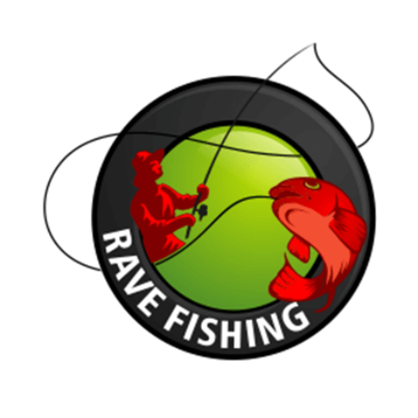 Rave Fishing Logo
