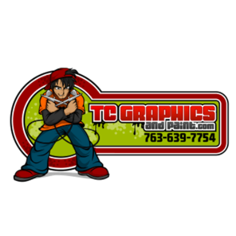 Tc Graphics and Paint Logo