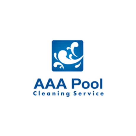AAA Pool Cleaning Service Logo