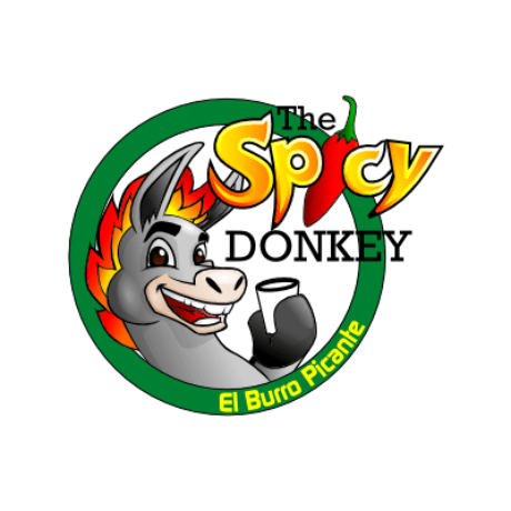 El Burro Picante or The Spicy Donkey Logo