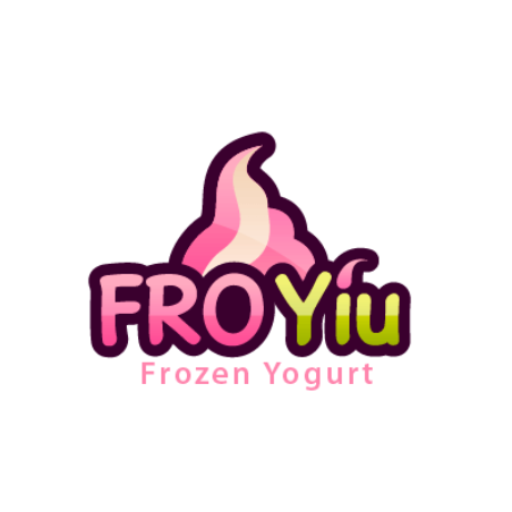 FRO Yiu Frozen Yogurt Logo