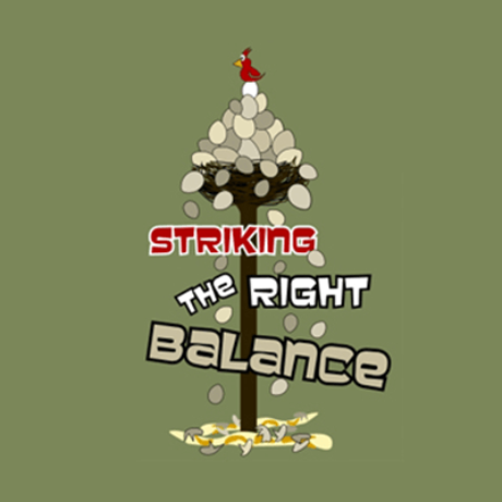 Striking the Right Balance Logo