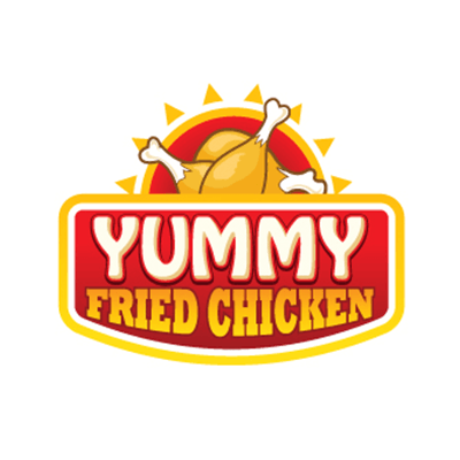 Yummy Fried Chicken Logo